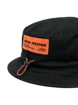 Flap Bucket Hat, BLACK