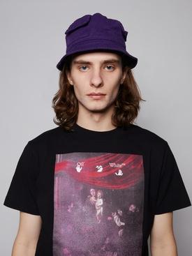 Flap Bucket Hat, PURPLE