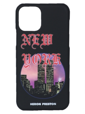 Heron Preston - Nyc Skyline Logo Iphone 11 Case - Women