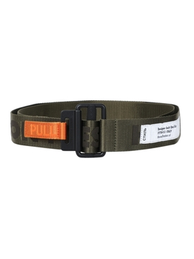 Logo Tape belt DARK OLIVE