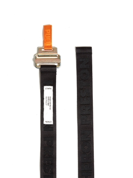 Logo Tape belt BLACK