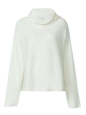 Ivory Mock Neck Top