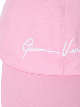 Pink logo baseball cap