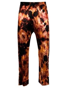 Chris Tie-dye Velvet Snap Pants