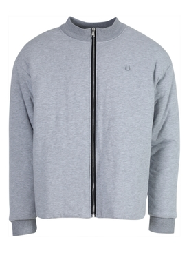 Grey padded jogging jacket