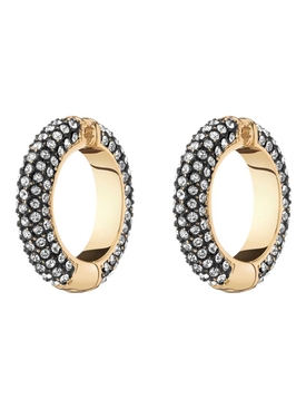 LILI PAVÉ CRYSTAL CUFF EARRINGS