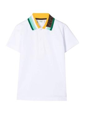 Kid's Logo Collar Polo Shirt