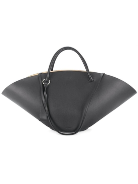 Sombrero top-handle bag BLACK