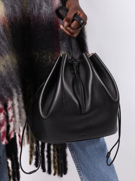 Black Holster medium bucket bag