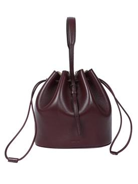 Dark Purple Holster small bucket bag