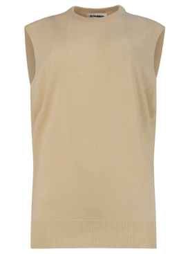 Medium Beige Knit Vest