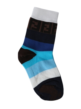 Kids multi-tonal socks BLUE