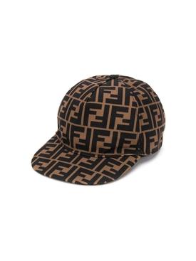 Kid's logo print cap