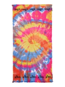 Paulas Ibiza Tie Dye Waffle Towel