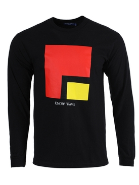 L's worth long-sleeve t-shirt black