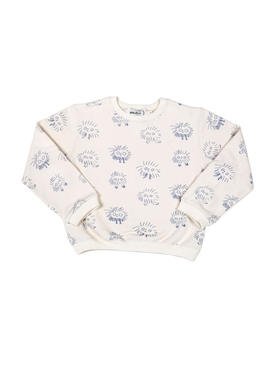 Kids Monster sweater WHITE