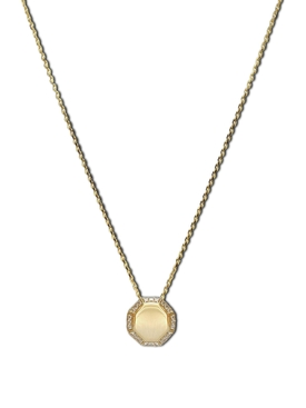 Cosma Pave Necklace YELLOW GOLD