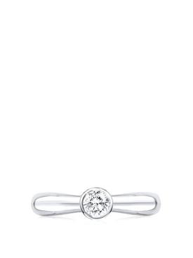 Eternal Promise Ring WHITE GOLD