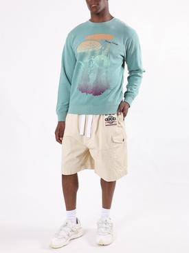Mushroom print sweatshirt