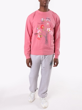Pink floral arrangement sweatshirt