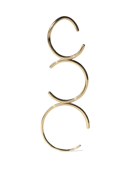 C Ear Pin Yellow Gold