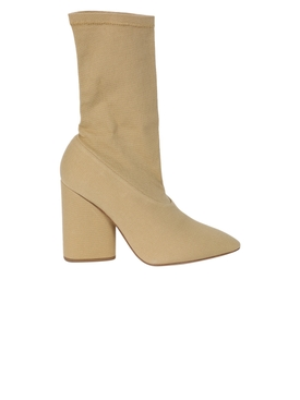DOLLAR CANVAS ANKLE-BOOT