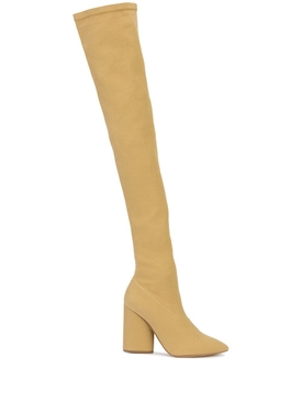 Neutral Thigh High Boots