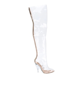 Transparent PVC Tubular Boots