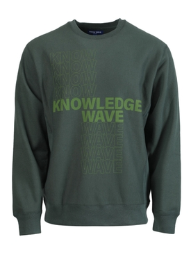 KNOWLEDGE WAVE SWEATSHIRT