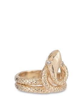 18K Gold Kunda Snake Ring