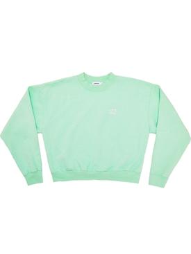 Essential Crewneck sweatshirt, Mint