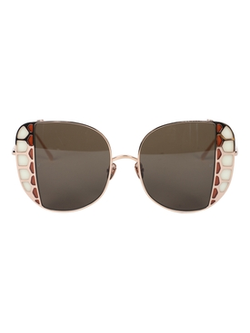 Linda Farrow - Amelia Oversized Sunglasses - Women