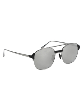 reed sunglasses, white gold