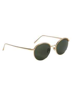 Marlon sunglasses, yellow gold