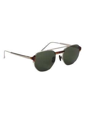 Nico Round Sunglasses, Tortoise
