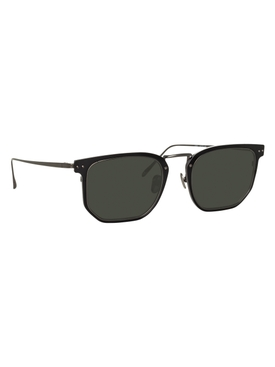 Black Saul rectangular sunglasses