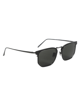 Saul Rectangular sunglaases, nickel
