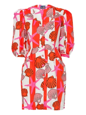 THE SUNNY ISLES DRESS, Seashell