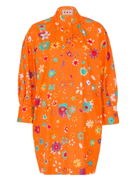 THE HARBOUR ISLAND DRESS, Orange Floral