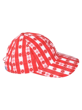 THE SOUTH POINTE HAT, Gingham & Floral