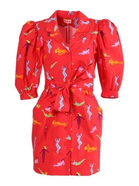 Casitas Dress Beach Babes Red