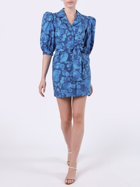 Casitas mini dress BLUE HYDRANGEA