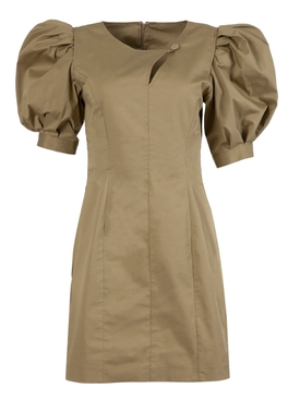 BAR JEAN DRESS KHAKI