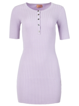 Samphire knit dress Lilac