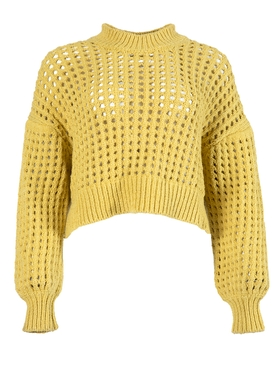 PECHEURS KNIT TOP YELLOW
