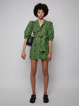Casitas Dress green sloth