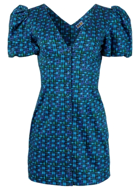 Pedra Bonita Dress Metropolitana Blue