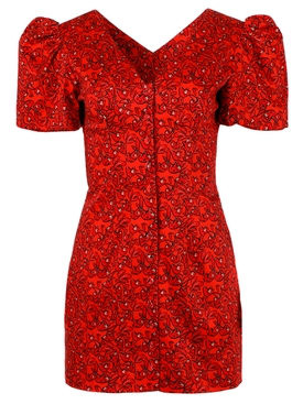 Pedra Bonita Dress red sloth