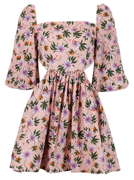 Copacabana Dress Passion Floral Peach