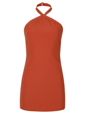 Brigadieros Dress Persimmon